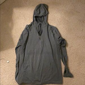 Lululemon lightweight 1/4 zip hoodie